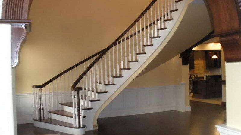 Decoration Parts Staircase Curved Design