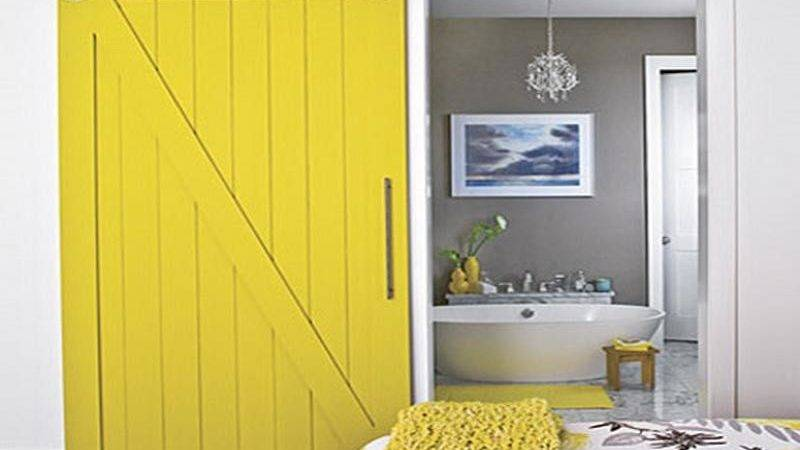 Decoration Yellow Grey Paint Colors