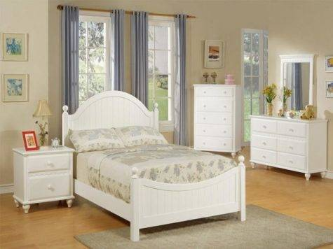 Decorations Bedroom Ideas Women White Furniture