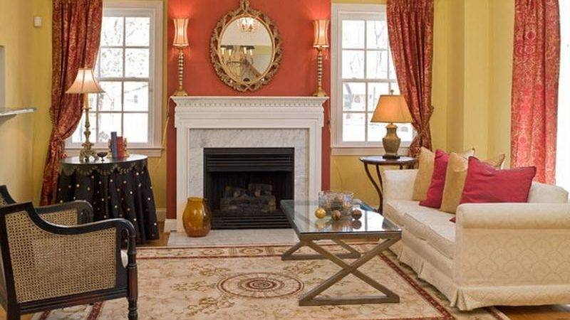Decorations Excellent Wall Accent Living Room