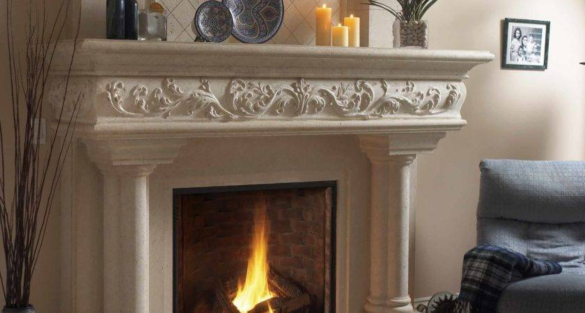 Decorations Fireplace Mantel Find Pin More
