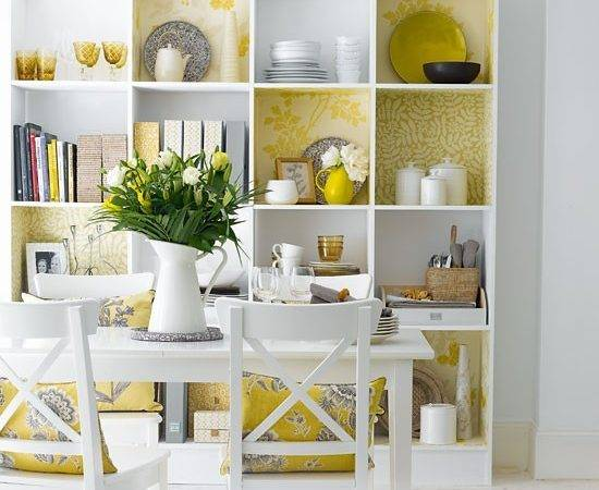 Decorative Dining Room Shelving Rooms Design