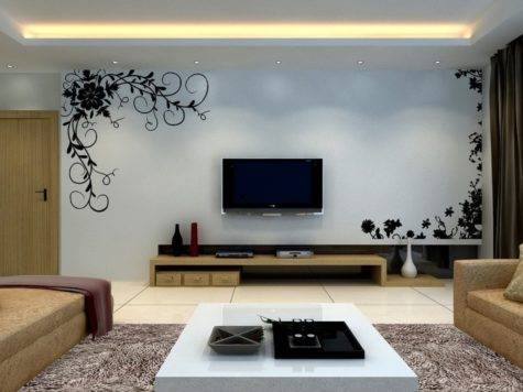 Decorative Living Room Wall House