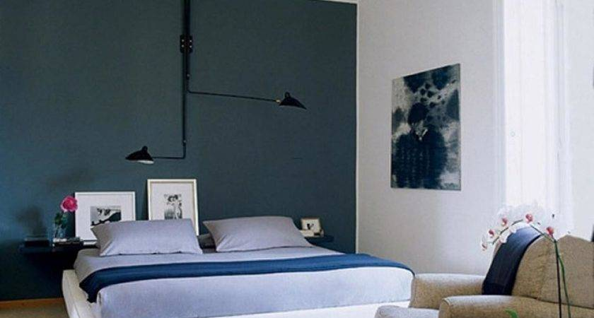 Delectable Dark Bedroom Accent Wall Color Design Cool