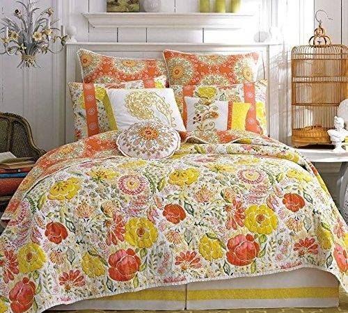 Dena Home Meadow Reversible Twin Quilt Reviews Bedding Sets