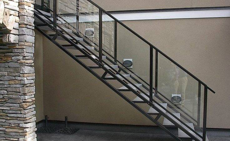 Design Glass Staircase Railing