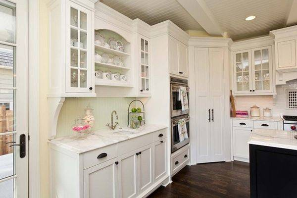 Design Ideas Practical Uses Corner Kitchen Cabinets