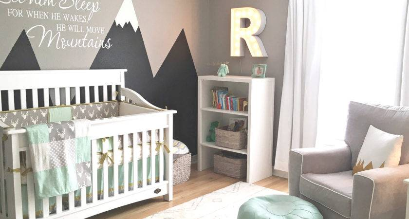 Design Reveal Mountain Inspired Nursery Project