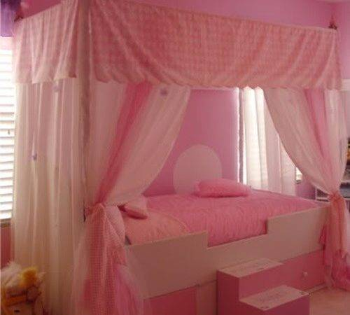 Design Wonderful Young Girl Bedroom Interior