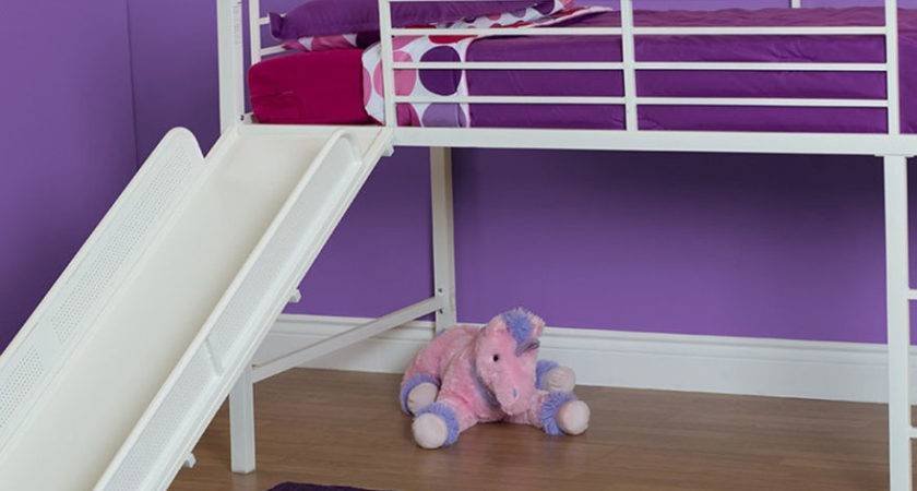 Dhp Twin Loft Bed Slide White Stage Stores