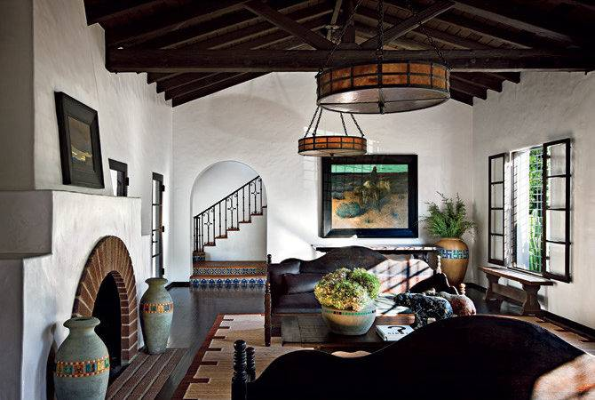 Diane Keaton Spanish Colonial Revival Style Mansion