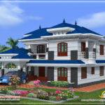Different Colors Exterior Paintings Kerala Modern