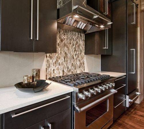 Different Tile Behind Stove Ideas Remodel Decor