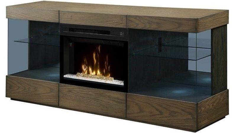 Dimplex Axel Electric Fireplace Stand Acrylic