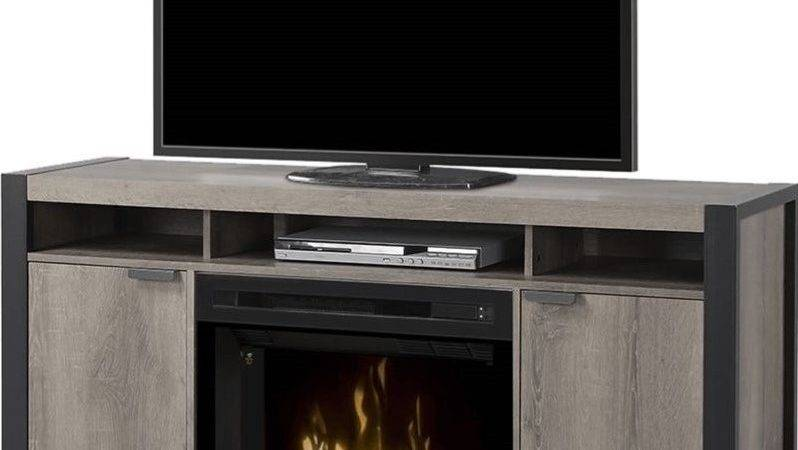 Dimplex Pierre Electric Fireplace Stand Acrylic