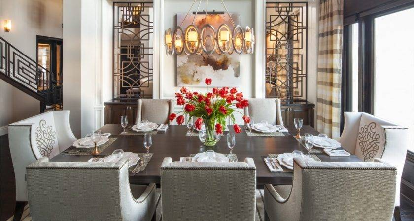 Dining Room Buffet Decorating Ideas Led Lamp Brown
