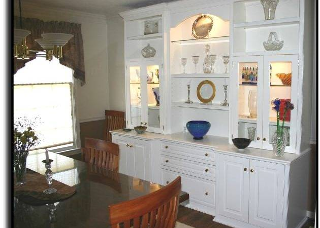 Dining Room Built China Cabinets Decor