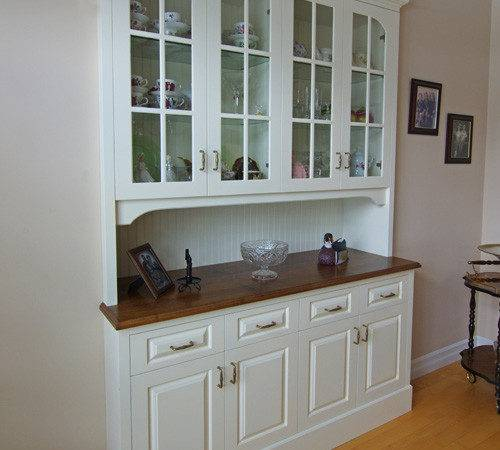 Dining Room Built Hutch Home