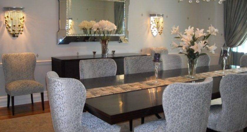 Dining Room Centerpiece Ideas Wooden Table Also