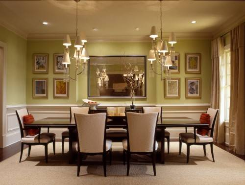 Dining Room Colors Casual Cottage