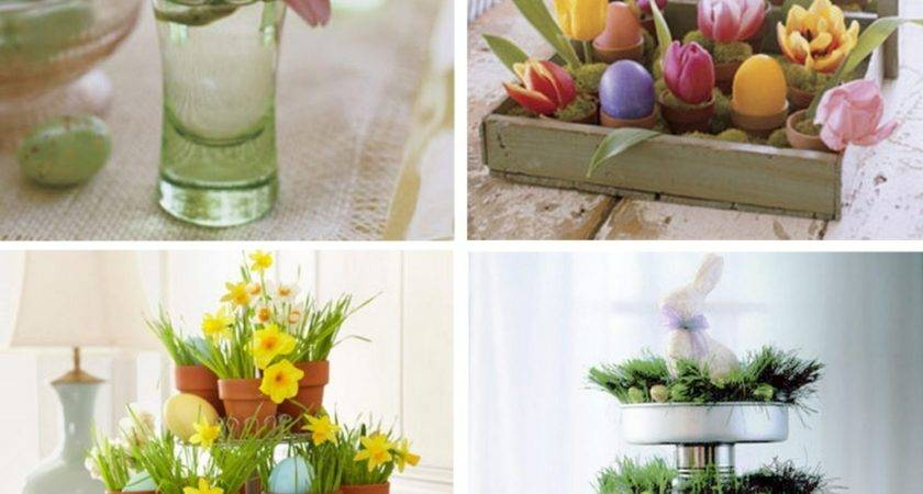 Dining Room Creative Easter Table Decoration Ideas
