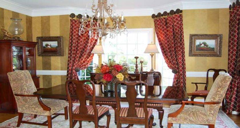 Dining Room Curtain Designs Red Curtains Bedroom