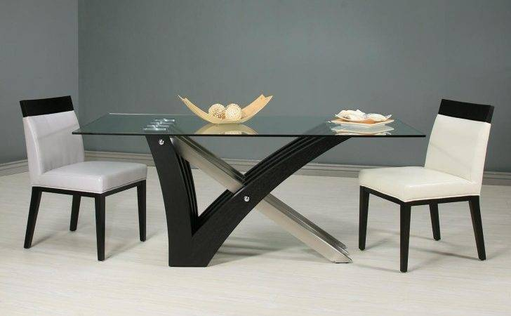 Dining Room Glass Top Tables Rectangular