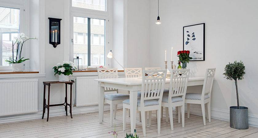 Dining Room Next Table Chairs Scandinavian Design