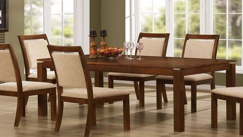 Dining Room Table Decor Photograph Above