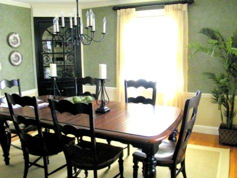 Dining Room Table Paint Ideas Home Design Concept