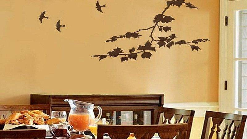 Dining Room Wall Paint Design Donchilei