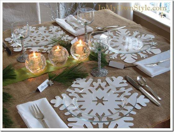 Dining Tables Small Spaces Ideas Christmas Table