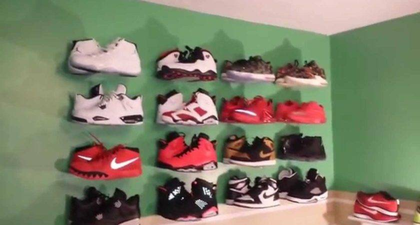 Display Your Sneakers Wall Youtube