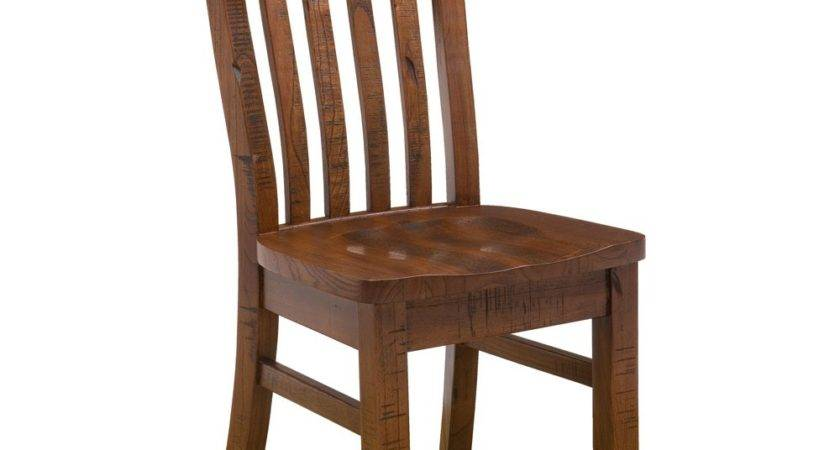 Distressed Wood Dining Chairs Harrow