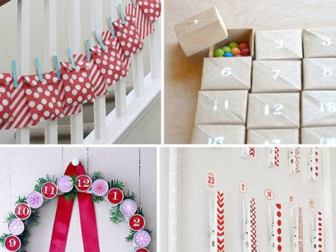 Diy Advent Calendar Ideas Celebration Shoppe