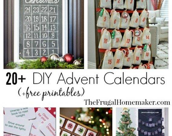 Diy Advent Calendar Ideas Christmas Countdown