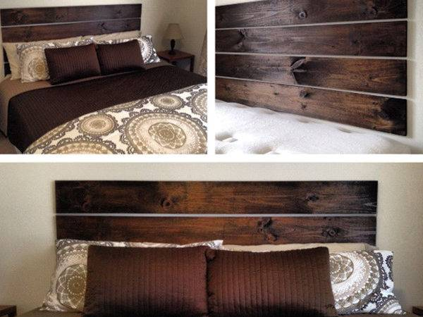 Diy Bedroom Headboard Ideas Home Design Interior