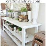 Diy Buffet Table Craftsman