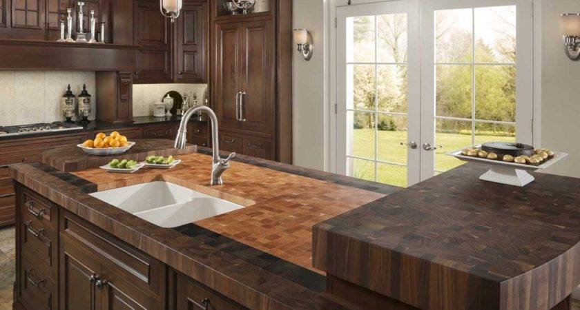 Diy Butcher Block Countertops Stunning Kitchen Look