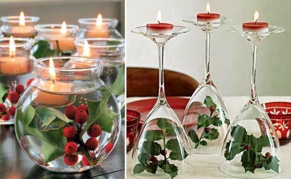 Diy Christmas Glass Centerpieces Find Fun Art Projects