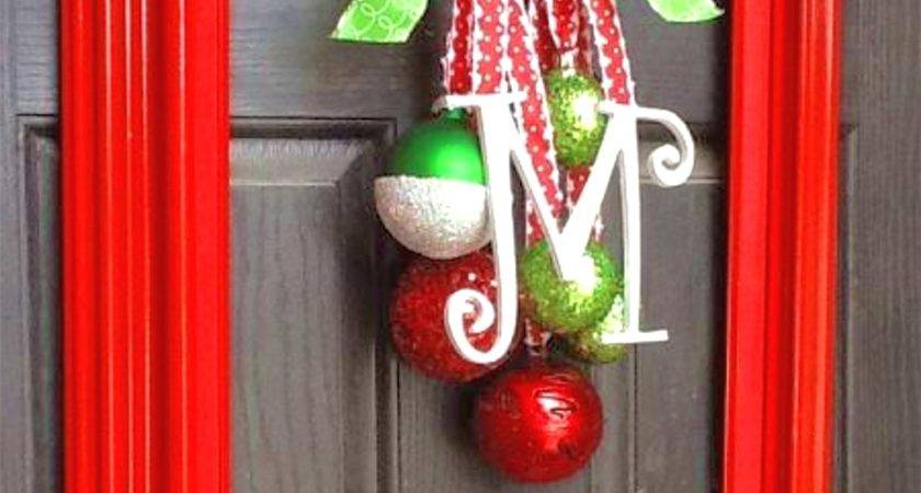Diy Christmas Outdoor Decorations Beautiful Model Door
