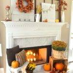 Diy Fall Mantel Decor Ideas Inspire Landeelu
