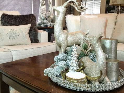 Diy Faux Fur Christmas Trees Guest Denise