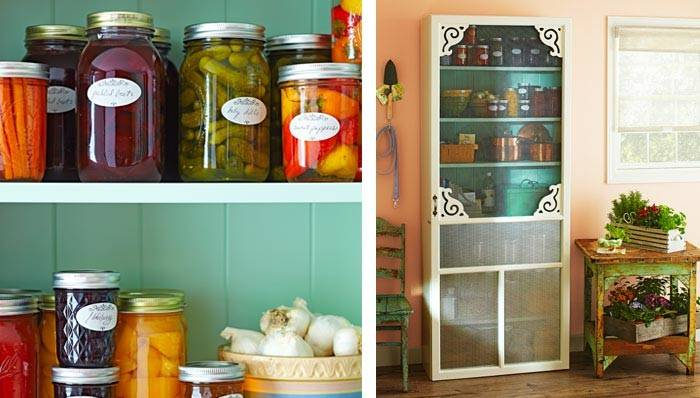 Diy Freestanding Kitchen Pantry