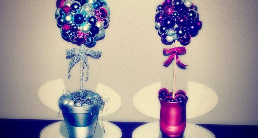 Diy Gifts Gift Idea Ornament Topiary Christmas