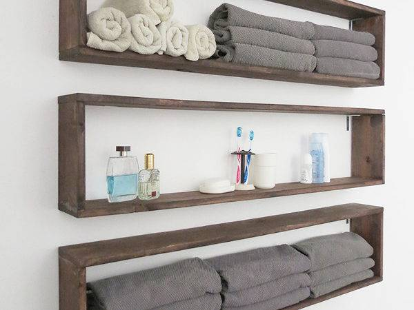 Diy Home Sweet Unique Wall Storage Ideas