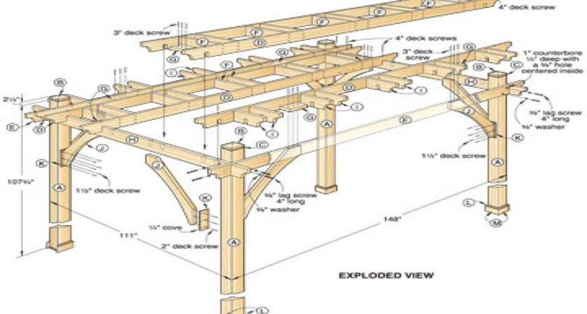 Diy Pergola Plans Design Ideas