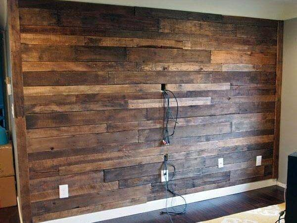 Diy Recycled Pallet Wall Pallets
