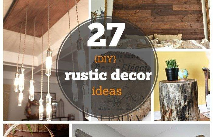Diy Rustic Decor Ideas Home