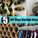 Diy Shoe Storage Ideas Diycozyworld Home